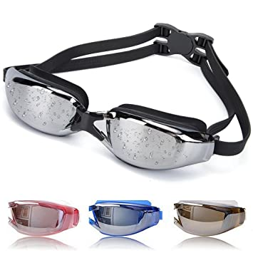 777ee32c2f OYMI Swimming Goggles Anti Fog No Leaking Swim Glasses with Free Nose Clip    Earplugs for