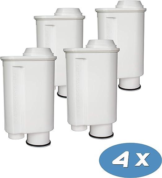 Juego de 4 filtros de agua para cafetera espresso (compatible con Philips Saeco Brita Intenza+ Plus CA6706/48 CA6702/00 CA6702/10 Moltio Incanto Exprelia Intelia Lavazza Gaggia A Modo Mio Rondo).: Amazon.es: Hogar