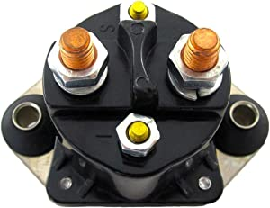 Rareelectrical New Starter Solenoid Relay Compatible With Mercury Marine By Part Numbers 89-817109A2 18-5835 89817109A2 185835