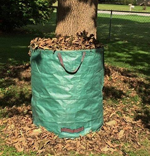 Go-GreenGardening Large Reusable Yard, Gardening & Leaf Waste Bag,Collapsible 70 gal