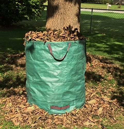Go-GreenGardening Large Reusable Yard, Gardening & Leaf Waste Bag,Collapsible 70 gal by Go-GreenGardening