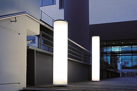 Apollo 72 - Lámpara de exterior para jardín, diferentes funciones, iluminación exterior, columna de luz, iluminación exterior: Amazon.es: Iluminación