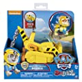 Paw Patrol Basic Vehicle Rubble Sea Patrol Action Figure from Spin Master