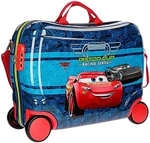 Disney Racing Series Equipaje Infantil, 50 cm, 34 litros, Azul