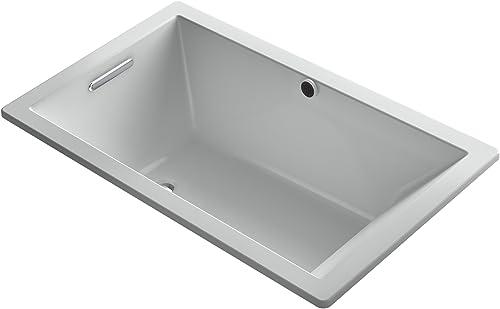 KOHLER K-1848-95 Underscore 60-Inch x 36-Inch Drop-In Bath