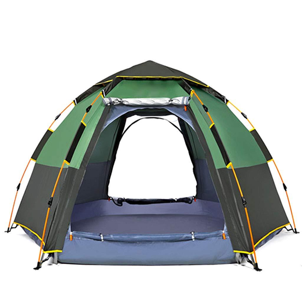 HAOHAOWU Haushaltszelt, Outdoor 3-8 Personen Automatische Verdickung Verdickung Verdickung Regen Campingzelt Atmungsaktiv Anti-Moskito d17ba6