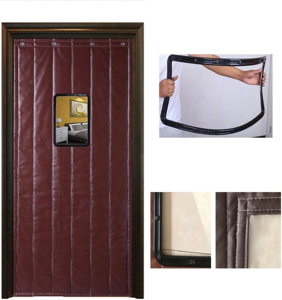 Thermal Insulated Door Curtain SHIJINHAO Cortina de Puerta Aislamiento térmico Protección térmica de Invierno algodón Panel de la Puerta de Inicio Suspensión de perforación, Personalizada: Amazon.es: Hogar