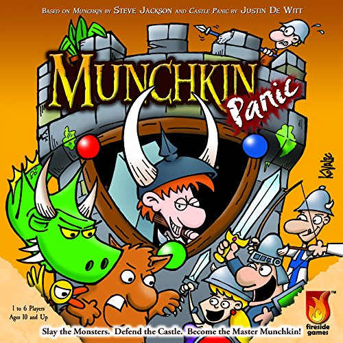 Fireside Games Munchkin Panic - Board Games for Families - Board Games for Kids 7 and up