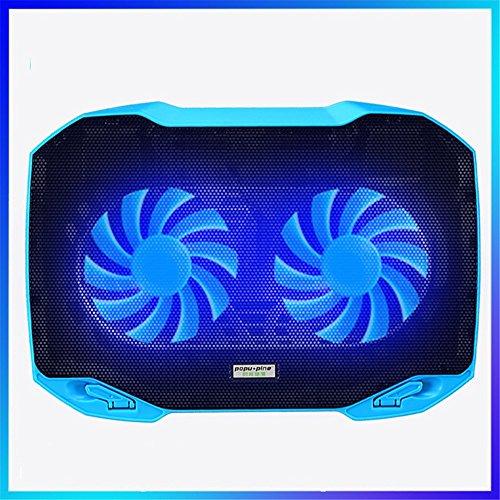 YuFLangel Notebook Cooler Mute Double Fan Air Cooling Radiator Bracket 14 Inch by YuFLangel
