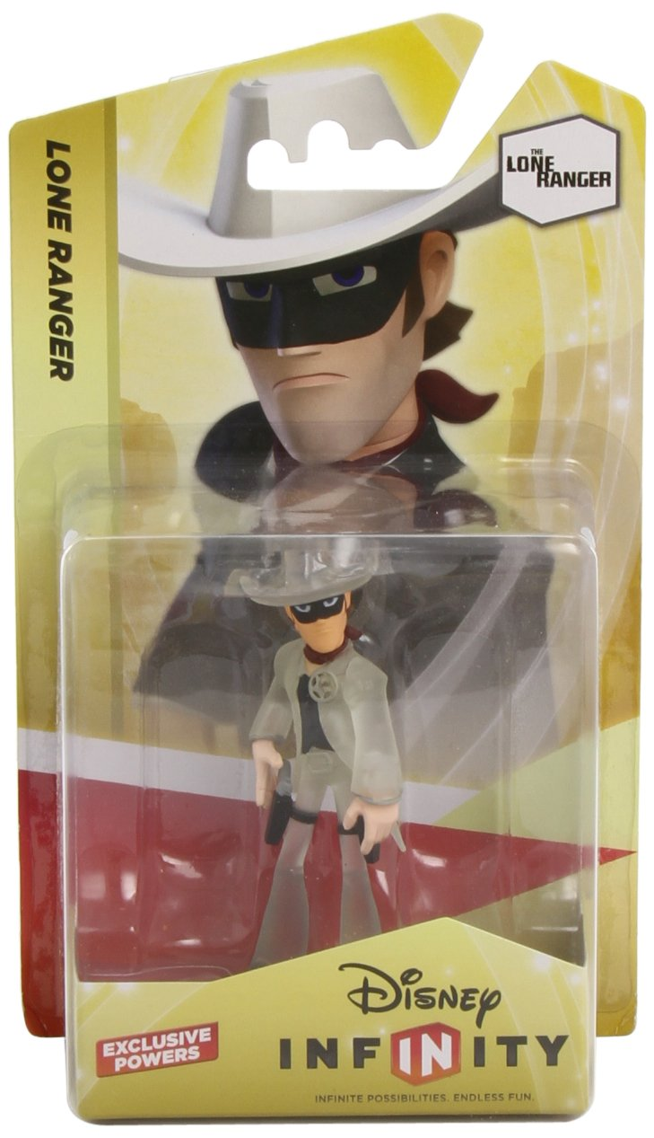 Disney Infinity Character - LONE Ranger Hybrid Toy Console compatible Compatible Multi Plateformes