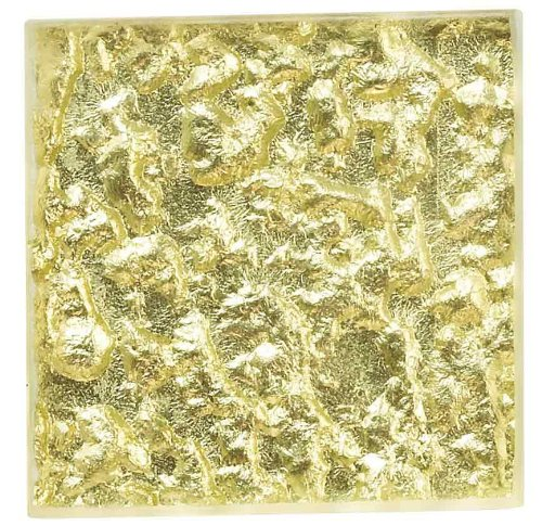 (ICJ 99006 2-Inch by 2-Inch Cream Glass Wall Accent)