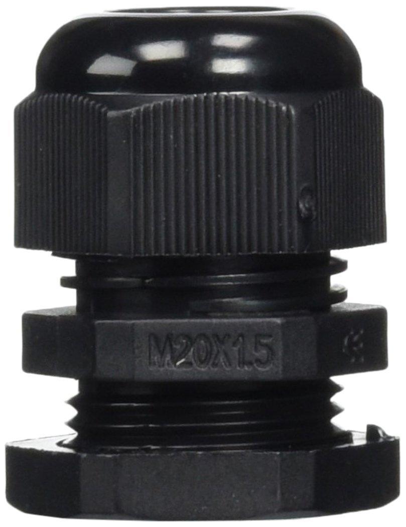 5 PCS M20 x 1,5 Wasserdicht Stecker 6–12 mm Kabel SM Füllung Drüse ...