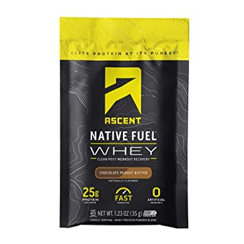 Amazon.com: Ascent Native Fuel Whey Protein Powder - Fabricado con nativo Whey - Ingredientes artificiales cero - Sin gluten., 1: Health & Personal Care