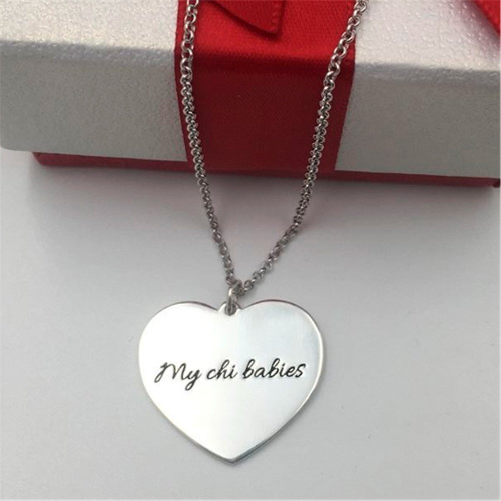 Personalized Necklace Customize Photo Necklace Heart Shape Pendant For Lover