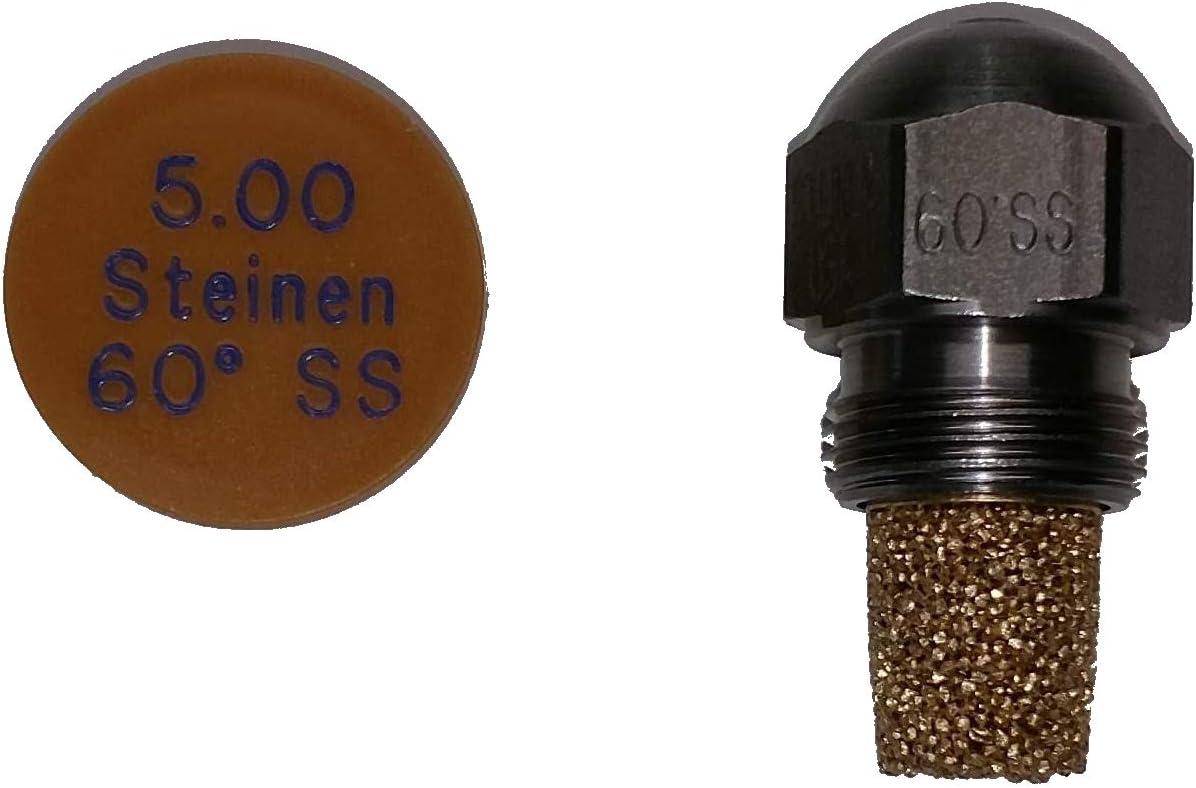 Steinen D/üse 5.00 gph 60 Grad SS
