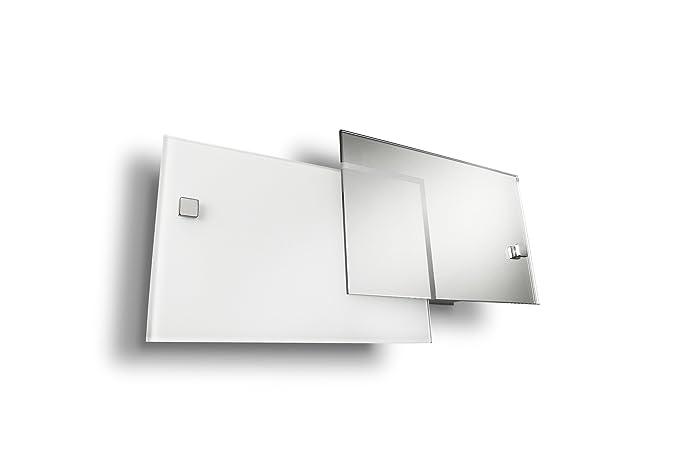 Plafoniere Da Muro Interni : Philips cordate lampada da parete vetri sovrapposti cromato