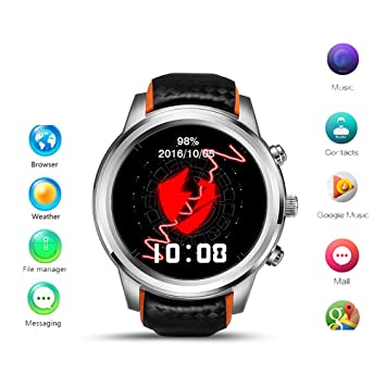 TLgf El Reloj de Multisport SmartWatch GPS/WiFi/SIM con la ...