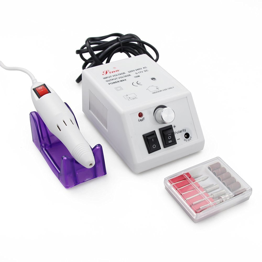 Electric Nail Drill Professional Flylink Nail Machine Electric File ...