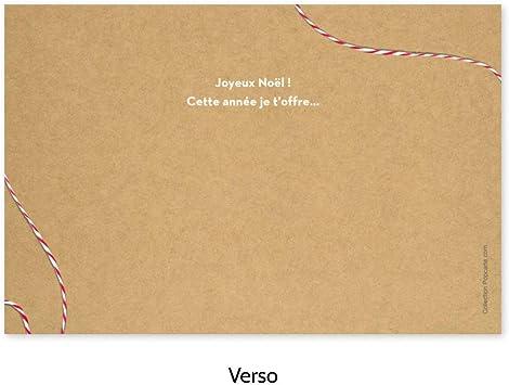 Cartes de Voeux Avec des Autocollants de No/ël pour les F/êtes Danniversaire No/ël Design Classique. CINMOK 96pcs Petites Cartes Avec Enveloppes