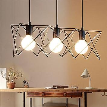 Lámpara de techo de diseño Ferand grandes de hierro de ...