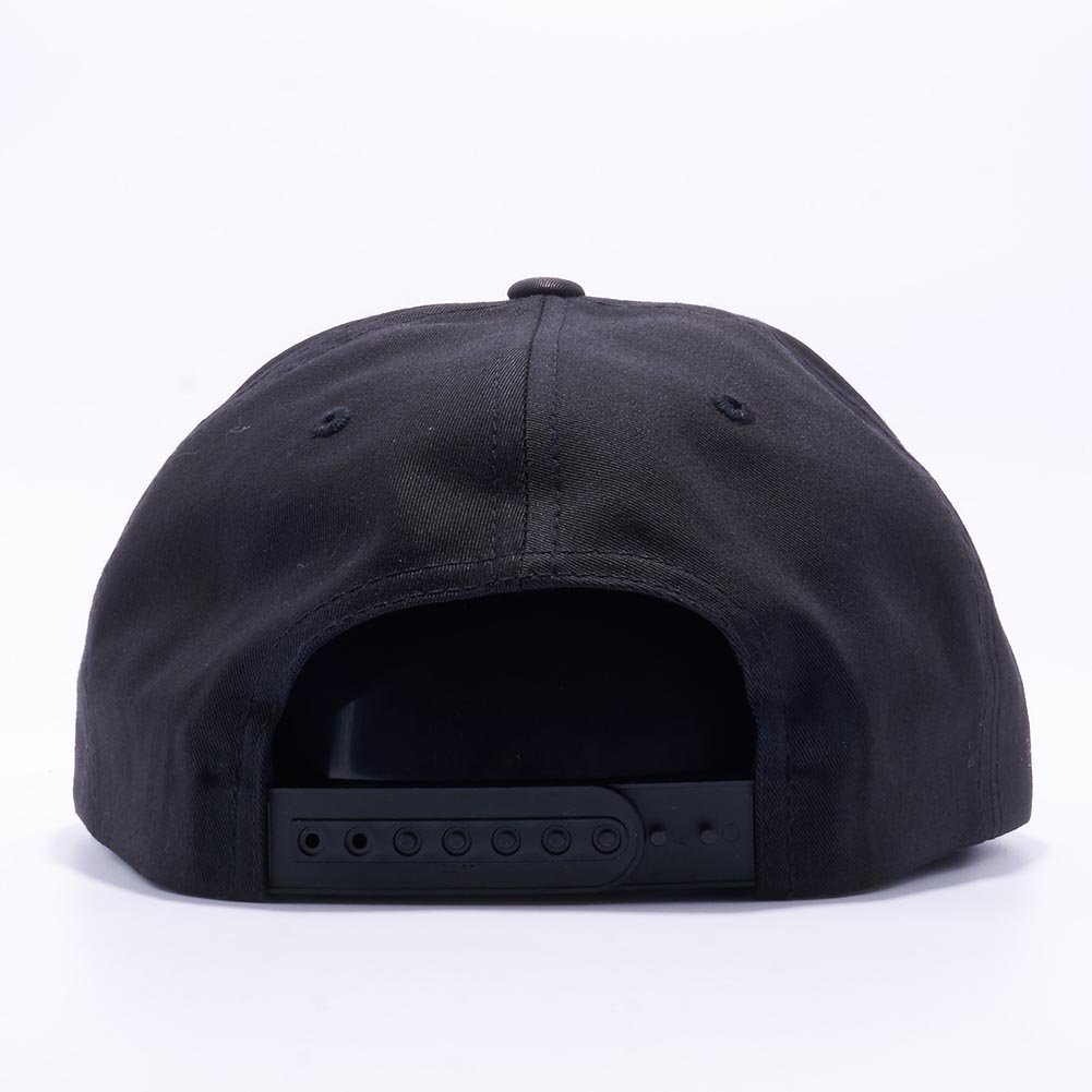 32d150419ed21 Acorn Yupoong Classic 6502 Unstructured 5 Panel Snapback Hats Vintage  Baseball Caps (Black) at Amazon Men s Clothing store