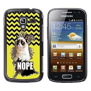 Dragon Case - FOR Samsung Galaxy Ace 2 - Things change quickly - Caja protectora de pl??stico duro de la cubierta Dise?¡Ào Slim Fit