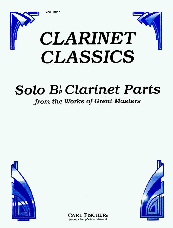 CU22 - Clarinet Classics Volume 1 - Solo Bb Clarinet Parts PDF