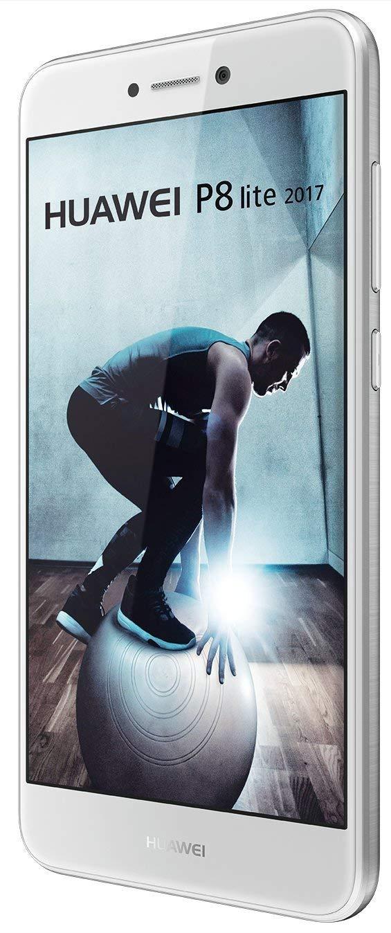 Smartphone Huawei P8 Lite 2017, memoria interna de 16 GB, blanco