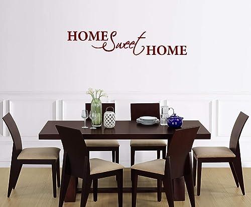 Adesivi Murali Frasi Home Sweet Home Wall Stickers Casa
