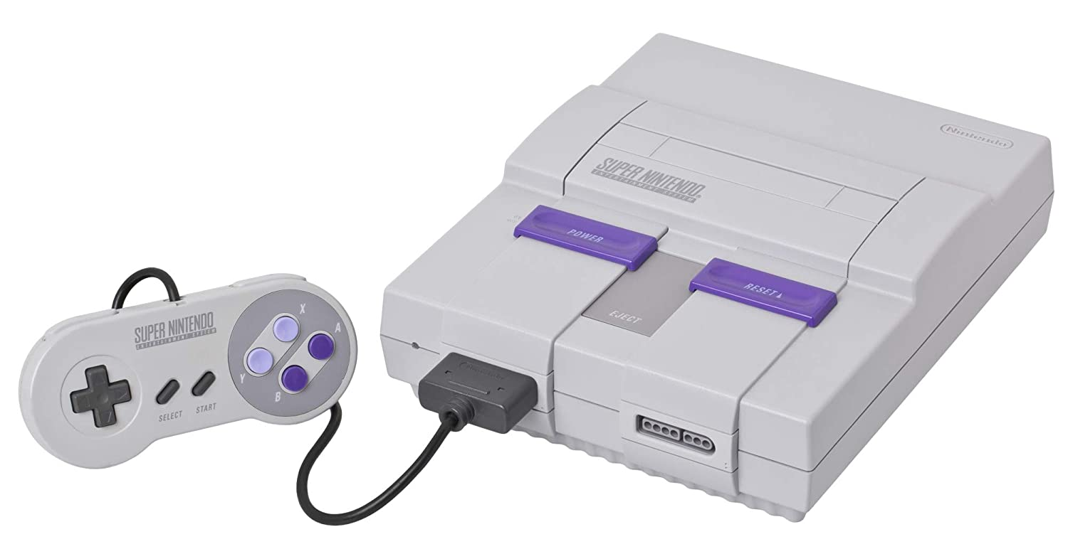 Amazon Com Super Nintendo Console Snes System Unknown Video Games
