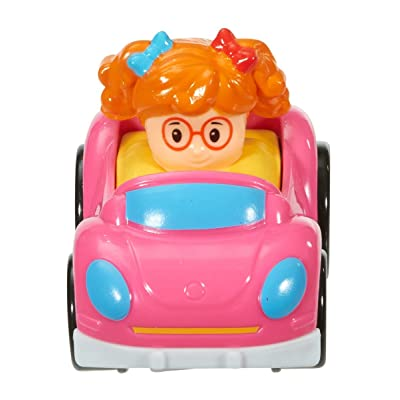 Fisher-Price Little People Wheelies Bug Car: Toys & Games