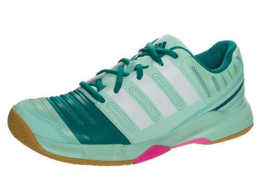 Adidas Court Stabil 11 Women's Indoor Shoes Mint/White (10 ...