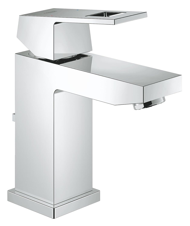 GROHE 23127000 | Eurocube Bathroom Tap | S | Pop-Up Waste