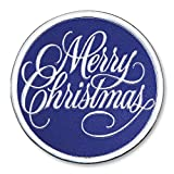 Merry Christmas Embossed Foil Seals, 48 Count