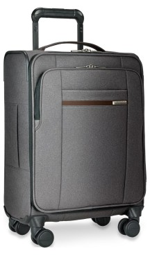 Briggs & Riley Kinzie Street International Carry-On Spinner in gray | Luggage Pros