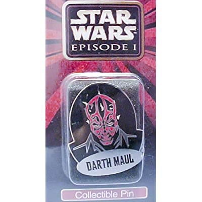 Star Wars Episode 1 Collectible Darth Maul Pin: Toys & Games