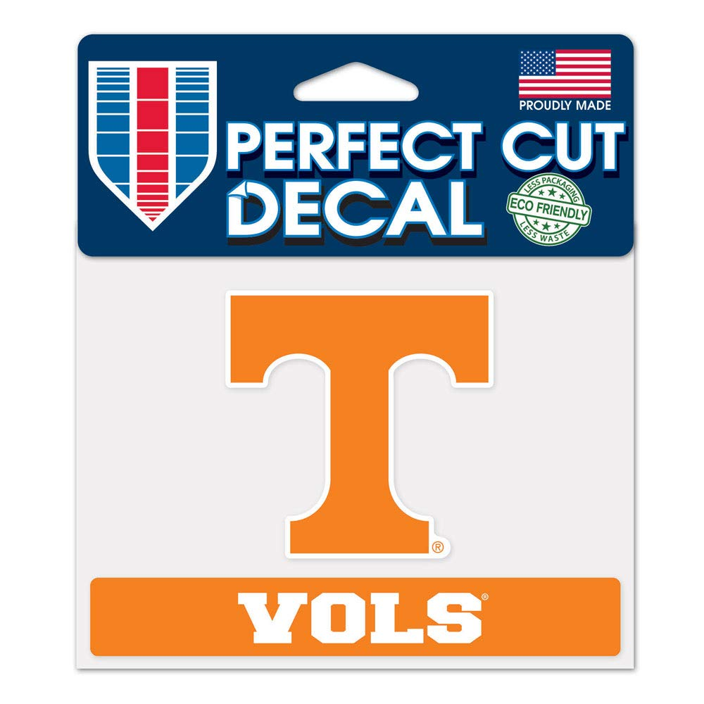 WinCraft NCAA University of Tennessee WCR37496014 Perfect Cut Color Decal 4.5 x 5.75