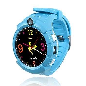 Enjoyall Niños Reloj, Smartwatch con GPS Tracker Reloj de Pulsera ...
