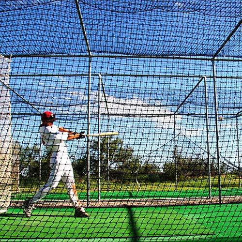 12 x 14 x 35 Baseball Batting Cage 24hr Ship #42 Heavy Duty Net Net World