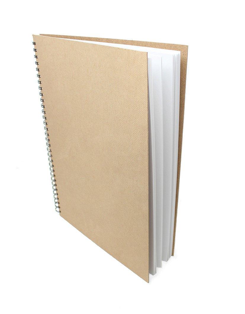 Artway Enviro - Quaderno da disegno spiralati - Cartoncino riciclato 100% - Copertina rigida - 170g/m² 35 pagine - A4 Paesaggio Artway Ltd