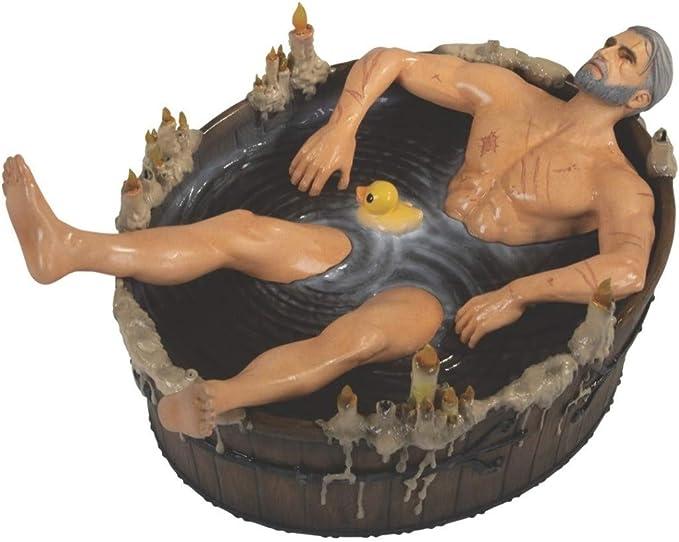 The Witcher 3 Geralt in Bath Statuette