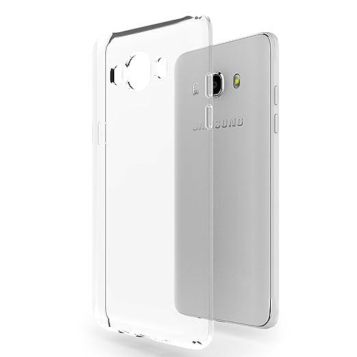 "177 opinioni per Custodia Galaxy J5 2015 (4.7"") Azorm Crystal Edition- Gel di Silicone TPU,"
