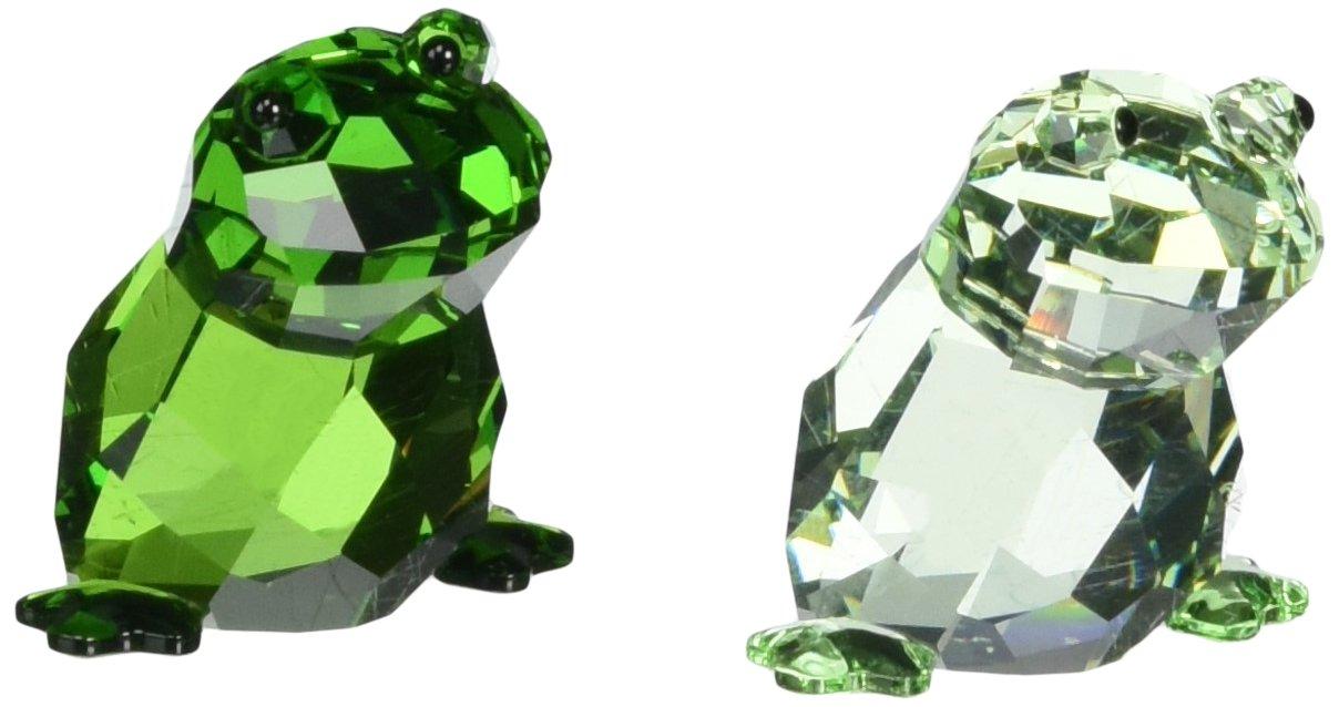 Swarovski in Love Frogs Angelo & Angelina Figurine