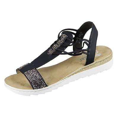Schönheit Qualität zuerst Veröffentlichungsdatum Rieker Women's 63062 Closed Toe Sandals