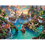 La Collezione Disney Peter Pan Puzzle By Thomas Kinkade Puzzle 750 Pezzi Premium Pack Made In The Usa