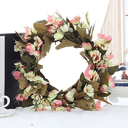 Daisy Wreath/Door Wreath/Spring Wreath for Door/Mother's Day Gift Rustic Home Decor Country House Decor/Flower Wreath
