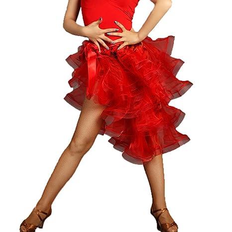 MoLiYanZi Salón de Baile Latinos Adultos de Danza de la Falda Torre Espiral Exquisita Cadera Toalla