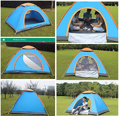 DKISEE 2 Person Tent C&ing Instant Tent Waterproof Tent Backpacking Tents for C&ing Hiking Traveling with Carrying Bag  sc 1 st  Trek-O-Hike & DKISEE 2 Person Tent Camping Instant Tent Waterproof Tent ...
