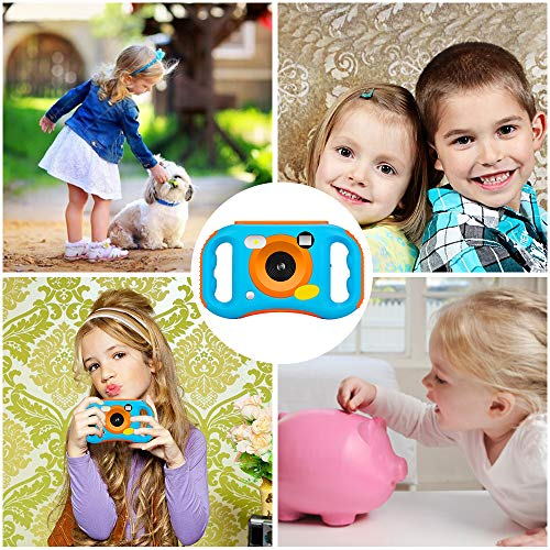 iBosi Cheng WiFi Kids Camera, 1080P HD Digital Anti-Drop Children Camera Camcorders with 1.77 Inch LCD Display,5X Digital Zoom,Flash and Mic, 16GB TF Card Included,Creative Birthday Gifts for Kids by iBosi Cheng (Image #6)