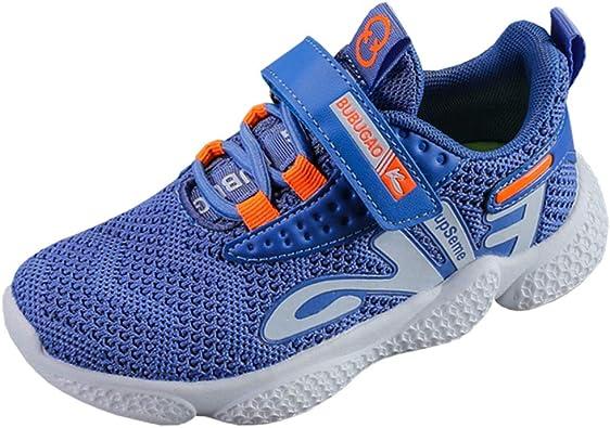 DEARC Zapatillas Deportivas Niña Velcro Ligero Transpirables Zapatos de Correr para Niño 27-38: Amazon.es: Zapatos y complementos